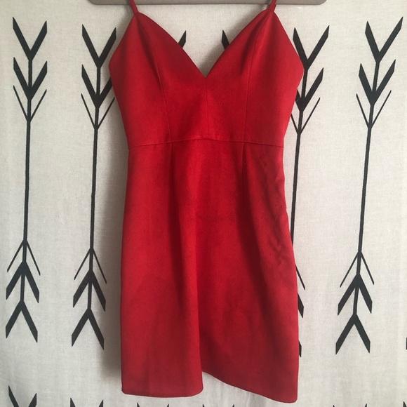 NBD Dresses & Skirts - NBD x Naven Twins red dress